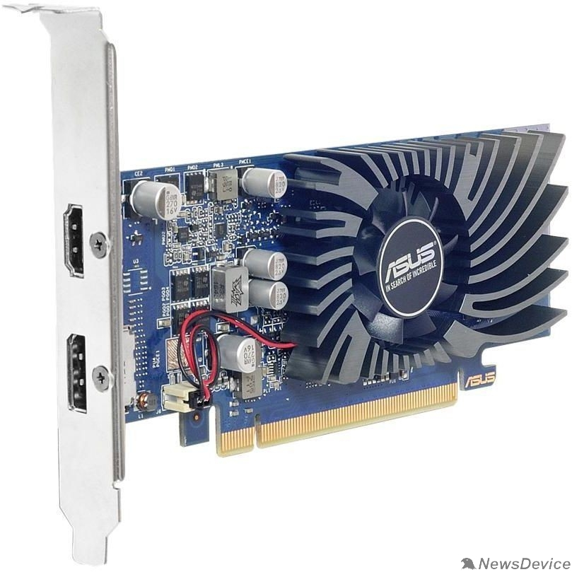 Видеокарта ASUS GT1030-2G-BRK  RTL GT1030, GDDR5, 64 bit, DP,HDMI