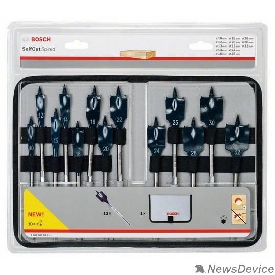 Bosch Bosch 2608587010 Наб 13шт пер сверл SELFCUT Speed 10-32мм