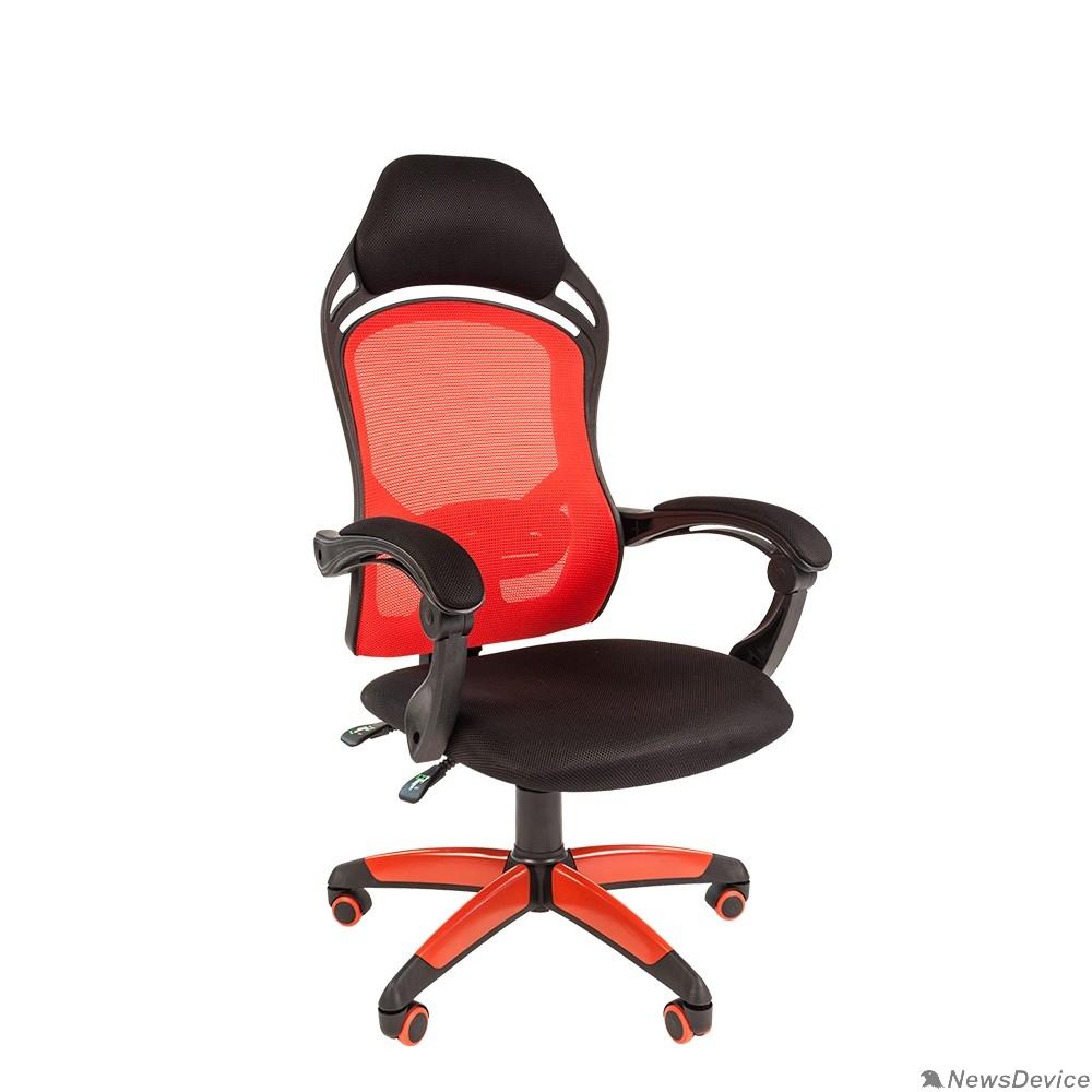 Офисные кресла Офисное кресло Chairman   game 12  Россия черн.красный 7016632
