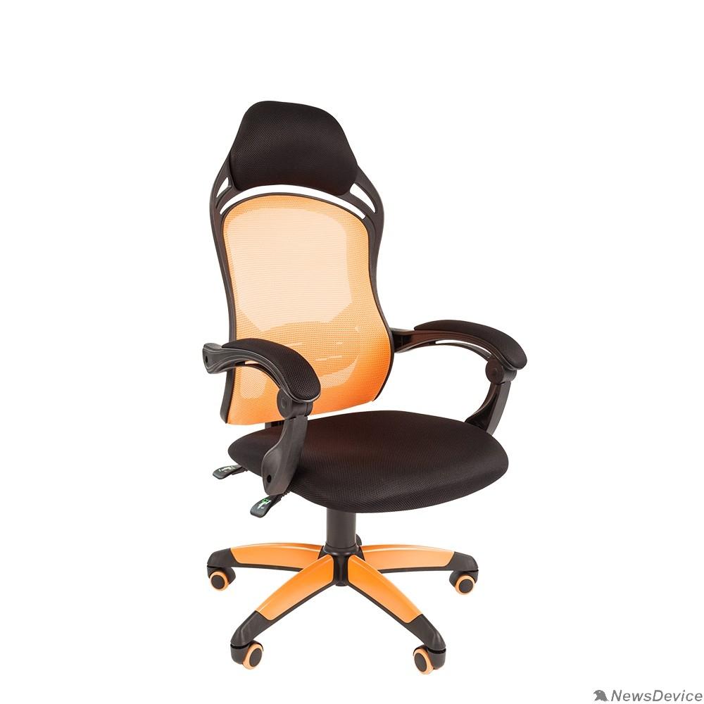 Офисные кресла Офисное кресло Chairman    game 12  Россия черн.оранжевый 7016631