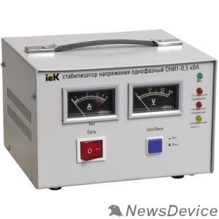 Стабилизаторы напряжения Iek IVS10-1-00500 Стабилизатор напряжения СНИ1-0,5 кВА однофазный ИЭК