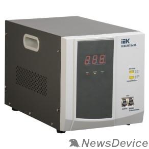 Стабилизаторы напряжения Iek IVS26-1-05000 Стабилизатор напряжения переносной серии Ecoline 5 кВА IEK