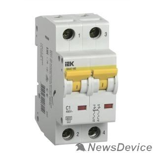 Модульное оборудование Iek MVA41-2-004-C Авт.выкл. ВА 47-60 2Р 4А 6 кА  х-ка С IEK