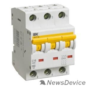 Модульное оборудование Iek MVA41-3-063-C Авт.выкл. ВА 47-60 3Р 63А 6 кА  х-ка С ИЭК