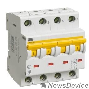 Модульное оборудование Iek MVA41-4-032-C Авт.выкл. ВА 47-60 4Р 32А 6 кА  х-ка С ИЭК