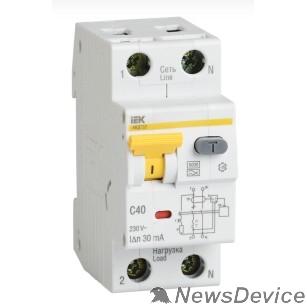Дифавтоматы Iek MAD22-5-016-B-10 АВДТ 32 B16 10мА - Автоматический Выключатель Дифф. тока