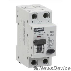 Дифавтоматы Iek MAD25-5-040-C-30 АВДТ 32 C40 - Автоматический Выключатель Дифф. Тока GENERICA