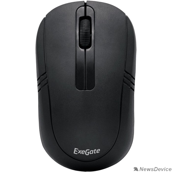 Мыши Exegate EX269649RUS Беспроводная мышь Exegate SR-9021 <black, optical, 3btn/scroll, 1000dpi, USB> Color box
