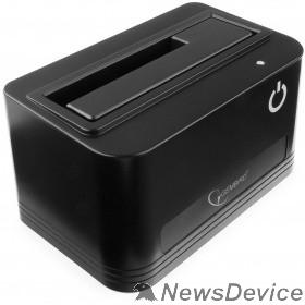 "Контейнер для HDD Gembird HD32-U3S-4 Докстанция 2.5""/3.5"" черный, USB 3.0, SATA, HDD/SSD"