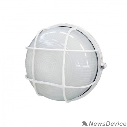 IEK Светильники ЖКХ Iek LNPP0-1302-1-060-K01 Светильник НПП1302 белый/круг с реш.60Вт IP54  ИЭК