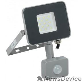 Прожекторы Iek LPDO702-10-K03 Прожектор СДО 07-10Д светодиодный серый с ДД IP44 IEK