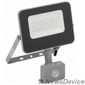 Прожекторы Iek LPDO702-20-K03 Прожектор СДО 07-20Д светодиодный серый с ДД IP44 IEK