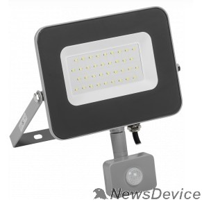 Прожекторы Iek LPDO702-30-K03 Прожектор СДО 07-30Д светодиодный серый с ДД IP44 IEK