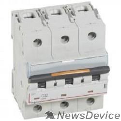 Вспомогательные элементы и аксессуары Legrand 409790 Автоматический выключатель DX3 3П C125 25кА