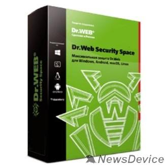 Программное обеспечение BHW-B-12M-2-A3(A2) Dr. Web Security Space, картонная упаковка, на 12 месяцев,  на 2 ПК 350931