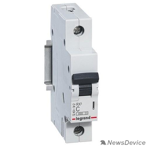 Вспомогательные элементы и аксессуары Legrand 419670 RX3 Авт.выключатель 4,5кА 63А 1П C