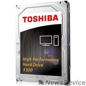 "Жесткий диск 4TB Toshiba X300 (HDWE140EZSTA) RETAIL SATA 6.0Gb/s, 7200 rpm, 128Mb buffer, 3.5"""
