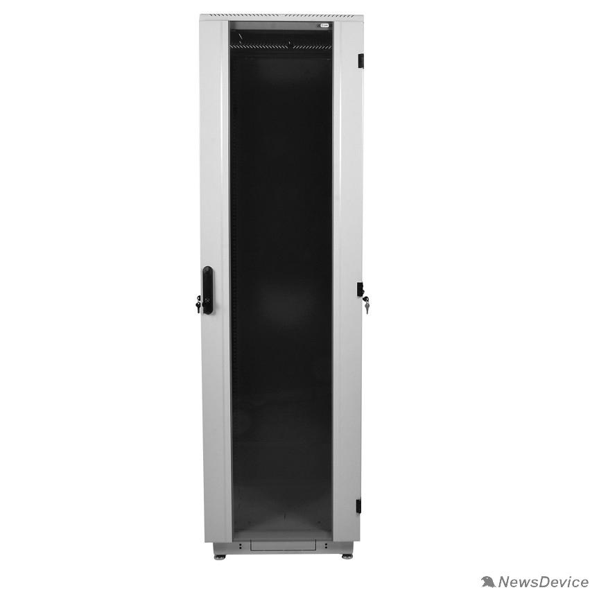 Монтажное оборудование ЦМО Шкаф телекоммуникационный напольный 42U (600x600) дверь стекло (ШТК-М-42.6.6-1ААА) (3 коробки)