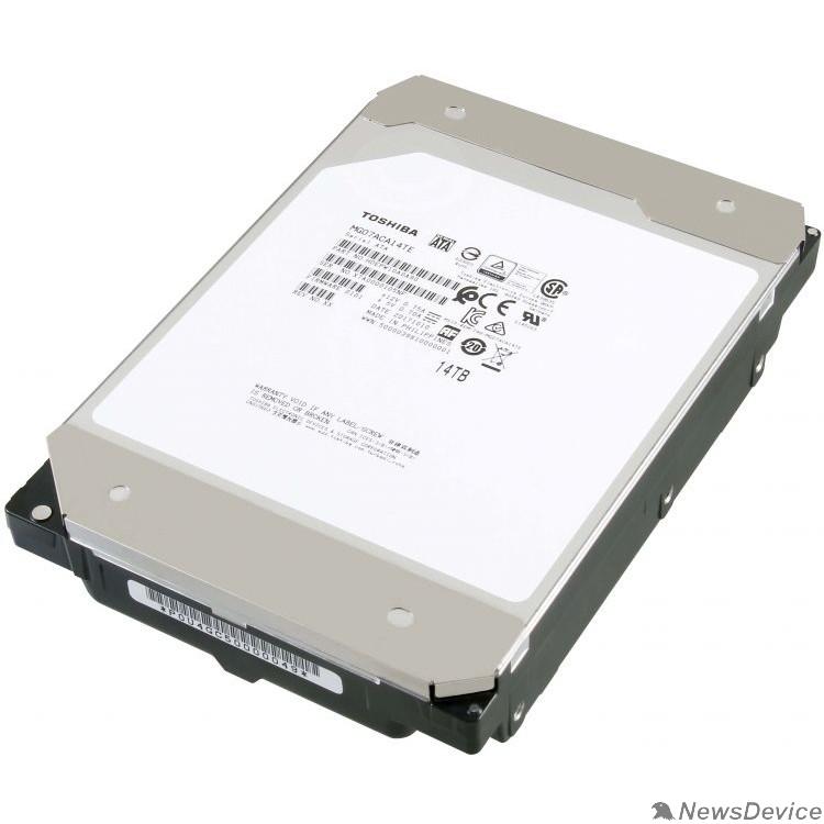 "Жесткий диск 14TB Toshiba (MG07ACA14TE) SATA 6.0Gb/s, 7200 rpm, 256Mb buffer, 3.5"""