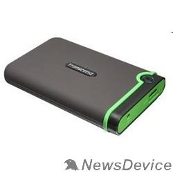 "Носитель информации Transcend Portable HDD 1Tb StoreJet TS1TSJ25M3S USB 3.0, 2.5"", grey"
