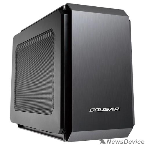 Корпус Cougar 108M020002-00 QBX  Корпус QBX, без БП, чёрный, Mini-ITX 445973