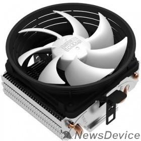 Вентиляторы PCCooler Q102 Кулер Q102 S775/115X/AM2/AM3/AM4/FM1/FM2 (45 шт/кор, TDP 86W, 2 тепловых трубки 6мм, вент-р 100мм, 2200RPM, 20dBa) Retail Color Box