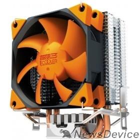 Вентиляторы PCCooler S88 Кулер S88 S775/115X/AM2/AM3/AM4/FM1/FM2 (48 шт/кор, TDP 98W, вент-р 80мм с PWM, 2 тепловые трубки 6мм, 1200-2000RPM, 20.5dBa) Retail Color Box