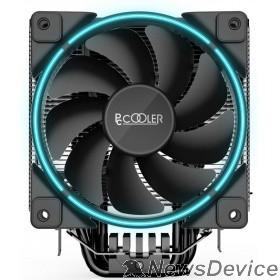 Вентиляторы PCCooler GI-X6B Кулер GI-X6B S775/115X/AM2/AM3/AM4 (24 шт/кор, TDP 160W, вент-р 120мм с PWM, Blue LED FAN, 5 тепловых трубок 6мм, 1000-1800RPM, 26.5dBa)