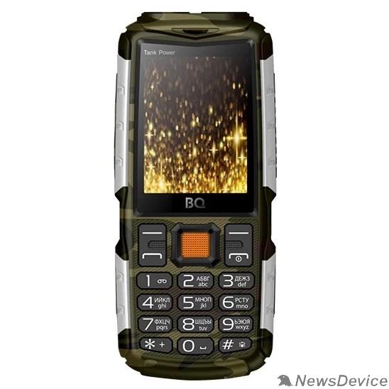 Мобильный телефон BQ 2430 Tank Power Camouflage+Silver