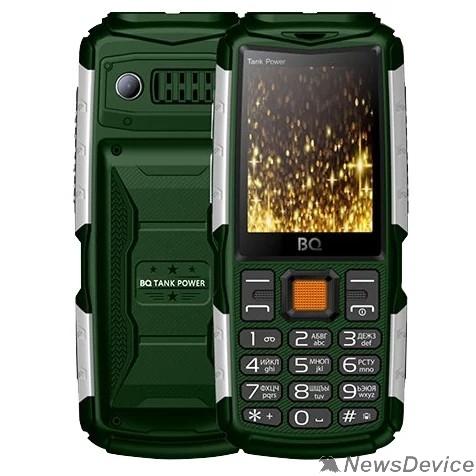 Мобильный телефон BQ 2430 Tank Power Green+Silver