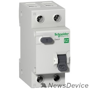 SE УЗО Easy9 Schneider-electric EZ9D34620 ДИФ. АВТ. ВЫКЛ. EASY 9 1П+Н 20А 30мА C AC 4,5кА 230В =S=