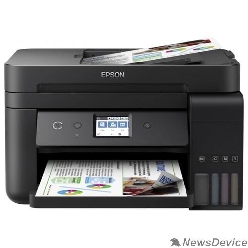 Принтер Epson L6190 (C11CG19404) A4 Duplex Net WiFi USB RJ-45 черный