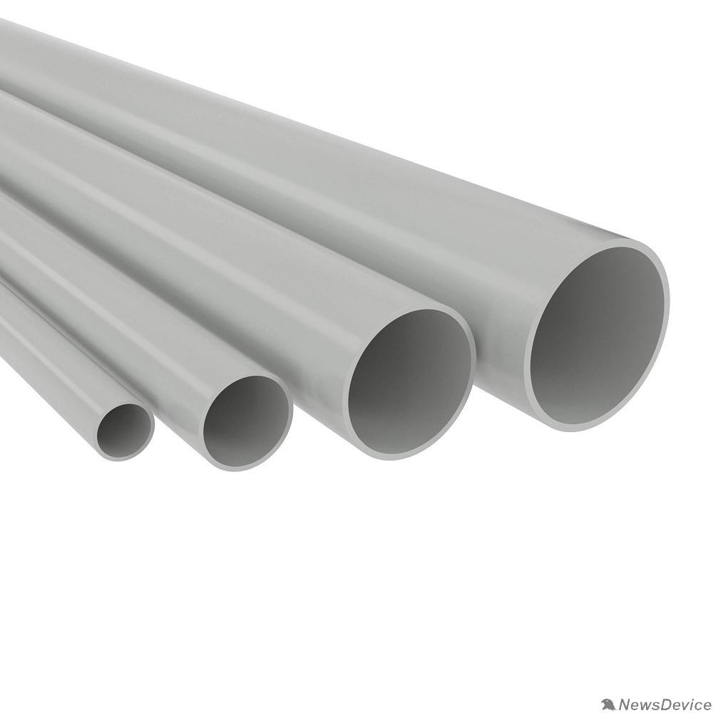 трубы Dkc 63920 Труба ПВХ жёсткая гладкая д.20мм, лёгкая, 3м, цвет серый 75 м