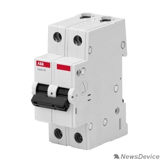 АВВ Автоматы Basic M ABB 2CDS642041R0634 Авт. выкл. 2P, 63A, C, 4,5кА, BMS412C63