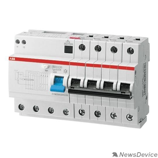 Дифавтоматы ABB 2CSR254001R1204 Авт.диф.тока 6мод. DS204 AC-C20/0,03