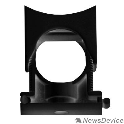 Аксессуары к гофрированным и жестким трубам. Dkc PASW2329N Держатель раздвижной с крышкой DN 23-29 мм, полиамид, цвет чёрный