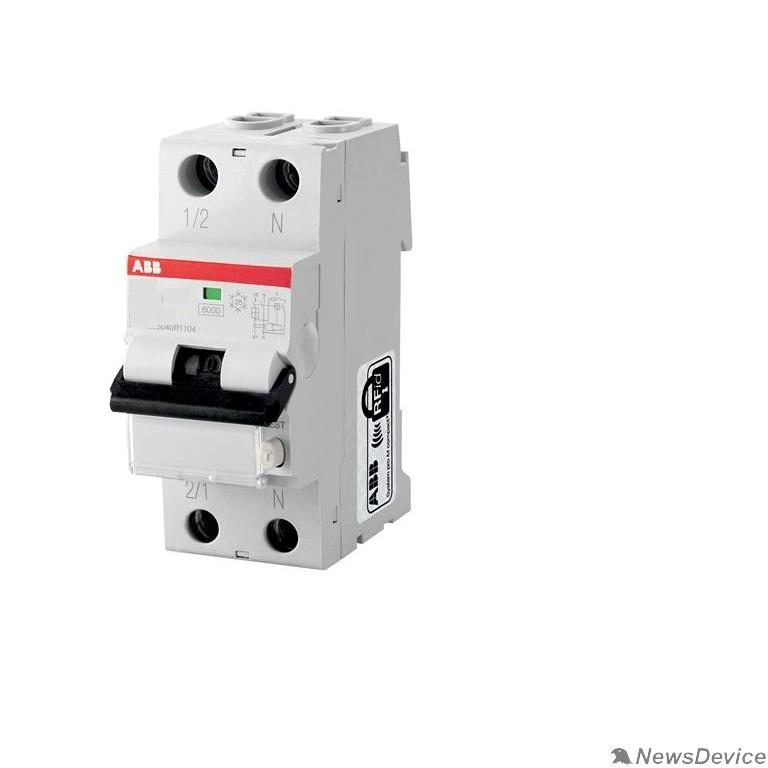Дифавтоматы ABB 2CSR255080R1164 Выключатель авт.диф.т. DS201 1п + N 16А 30мА С16 AC30