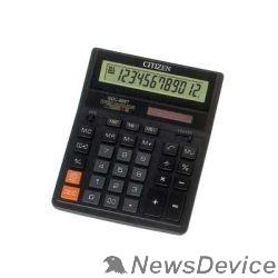 Калькулятор Калькулятор бухгалтерский Citizen SDC-888TII черный настольный, 12 разрядн., дв. пит., 2 памяти, коррект. 17241