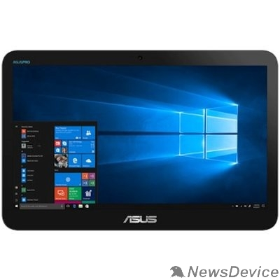 "Моноблок Asus V161GAT-BD012D 90PT0201-M00610 black 15.6"" HD+ TS Cel 4000/4Gb/500Gb/2XCOM/DOS"