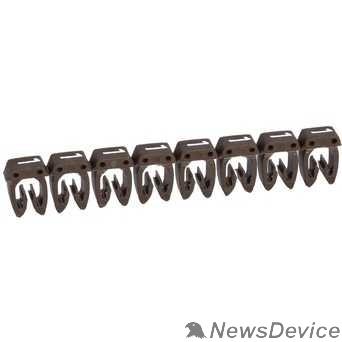 LEGRAND Кабель-каналы, аксессуары Legrand 038101 Маркер CAB 3 - для кабеля 0,15-0,5 мм3 - цифра 1 - коричневый