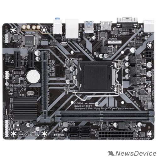 Материнская плата Gigabyte H310M H (V2.0) RTL S1151 <H310> PCI-E Dsub+HDMI GbLAN  SATAIII mATX 2DDR4