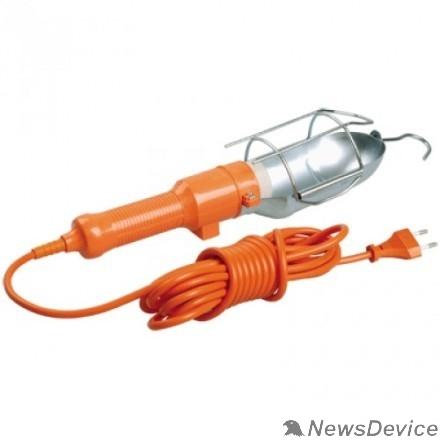 Переносное освещение Iek WSP20-10-K09 Светильник переносной УП-1Р плоская вилка (с выкл.) 2Р/10метров 2х0,75 ИЭК