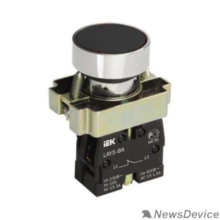 Контакторы IEK BBT60-BA-K02 Кнопка управления LAY5-BA21 без подсветки черная 1з