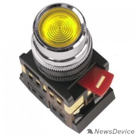 Контакторы IEK BBT10-ABLF-K05 Кнопка ABLF-22 желтый d22 мм неон/240В 1з+1р