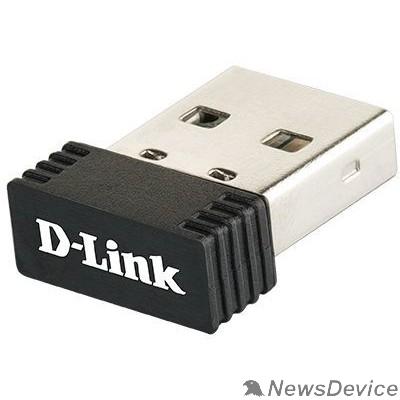 Сетевое оборудование D-Link DWA-121/C1A  Беспроводной компактный USB-адаптер N150