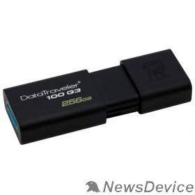 Носитель информации Kingston USB Drive 256Gb DT100G3/256GB USB3.0