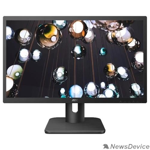 "Монитор LCD AOC 21.5"" 22E1D черный TN+film 1920x1080 2 ms 170/160 250 cd 20M:1 DVI HDMI(1.4) AudioOut 2x2W"