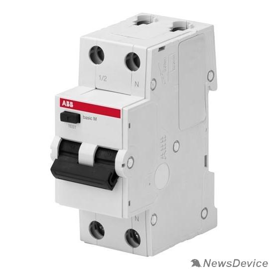 АВВ Дифавтоматы Basic M ABB 2CSR645041R1104 Выкл. авт. диф. тока, 1P+N, 10А, C, 4.5kA, 30мА, AC, BMR415C10