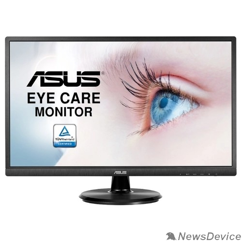 "Монитор ASUS LCD 23.8"" VA249HE черный VA 1920x1080 5ms 250cd 178/178 3000:1 D-Sub HDMI Tilt VESA 90LM02W1-B02370"