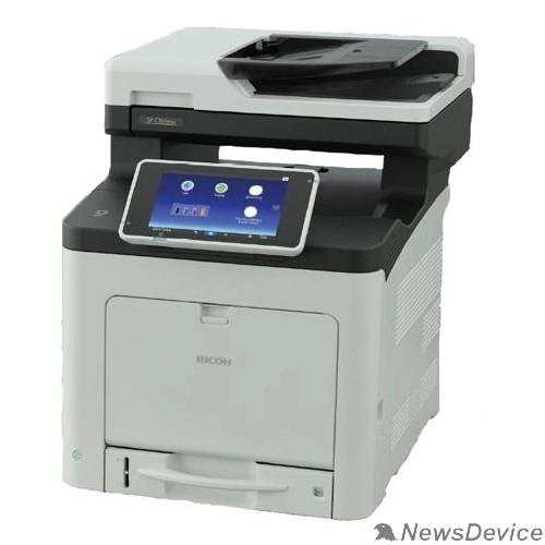 Принтер Ricoh SP C360SNw МФУ, A4, цветной, LED, 2Гб, 30стр/мин, дуплекс,SPDF50, сенс.экран, PS, GigaLAN, WiFi, 250л,старт.картр, самозапуск (408173)
